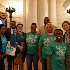 Campaign to Restore Meaningful Commutation for Lifers Lobby Day Summer 2016