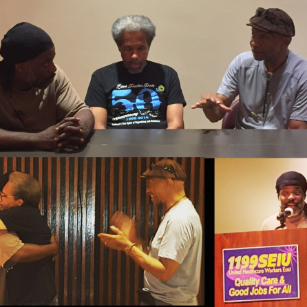 Solitary Confinement Conference Fall 2016 - Albert Woodfox had just been recently released.