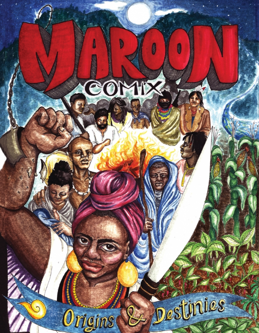 maroon comic